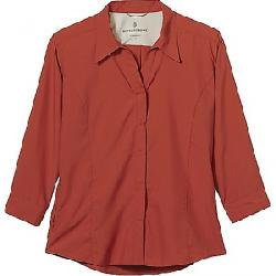 Royal Robbins Women's Expedition Chill Stretch 3/4 Sleeve Shirt Brick