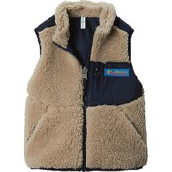 Columbia Youth Archer Ridge Reversible Vest Ancient Fossil / Collegiate Navy