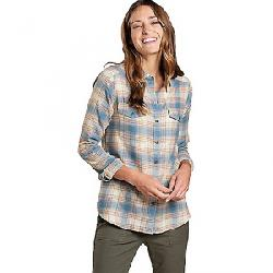 Toad & Co Women's Re-Form Flannel Shirt Almond