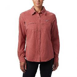 Columbia Women's Irico LS Shirt Dusty Crimson Heather