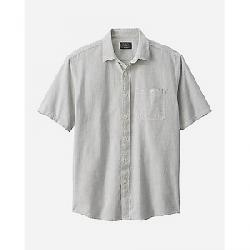 Pendleton Men's Kay Street SS Fitted Stripe Shirt Ivory/Indigo Dot