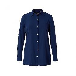 Royal Robbins Womens Spotless Traveler LS Tunic Ink Blue