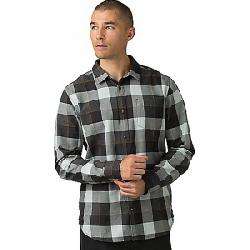 Prana Men's Los Feliz Flannel Shirt Charcoal