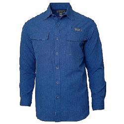 Hook & Tackle Men's Iztapa LS Shirt Blue