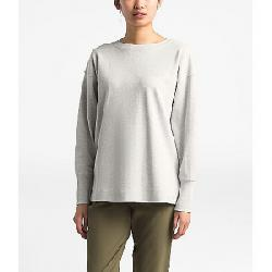 The North Face Women's Outerlands LS Waffle Wild Oat Heather