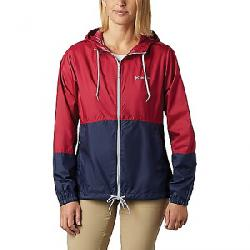 Columbia Women's Flash Forward Windbreaker Jacket Red Orchid/Nocturnal