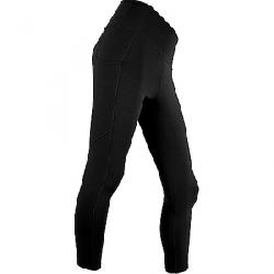 Polarmax Women's Stretch3 Super Mid-Weight Pocket Capri Black