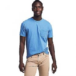 Faherty Men's Sunwashed Pocket Tee Cobalt