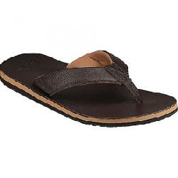 Sanuk Men's John Doe 2 Sandal Dark Brown