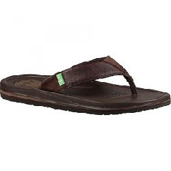 Sanuk Men's Beer Cozy 3 Primo Sandal Brown