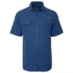 Hook & Tackle Men's Iztapa SS Shirt Blue