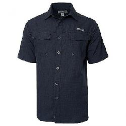 Hook & Tackle Men's Iztapa SS Shirt Charcoal Grey
