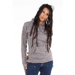 Dovetail Women's Pullover Hoody Grey Heather