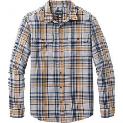 Prana Men's Edgewater LS Shirt Light Heather Grey