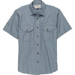 Filson Men's Short Sleeve Feather Cloth Shirt Smoke Blue