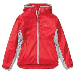 Marmot Boys' Trail Wind Hoody Team Red / Sleet