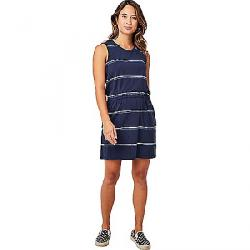 Carve Designs Women's Camila Dress Navy Vintage Stripe