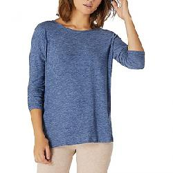 Beyond Yoga Women's Moonrise Spacedye Pullover Serene Blue / Hazy Blue