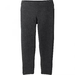 Prana Women's Pillar Capri - Plus Charcoal Heather