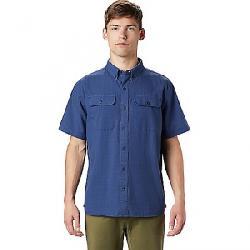Mountain Hardwear Men's Crystal Valley SS Shirt Better Blue