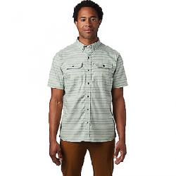 Mountain Hardwear Men's Crystal Valley SS Shirt Glacial Mint