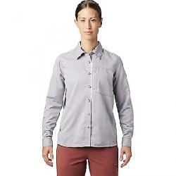 Mountain Hardwear Women's Canyon LS Shirt Dusted Sky
