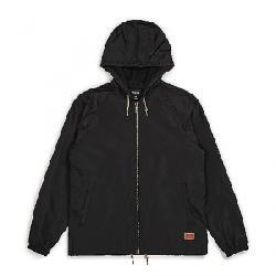 Brixton Men's Claxton Windbreaker Jacket Black
