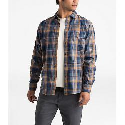 The North Face Men's Hayden Pass 2.0 LS Shirt Cedar Brown Rogan Plaid
