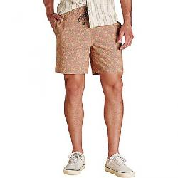 Toad & Co Men's Boundless Pull On 7 Inch Short Chestnut Floral Print