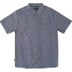 HippyTree Men's Ascent Woven Shirt Blue