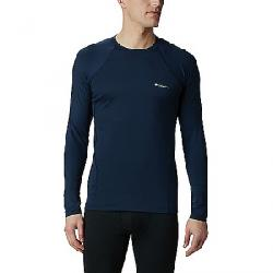 Columbia Men's Midweight Stretch Long Sleeve Top Collegiate Navy