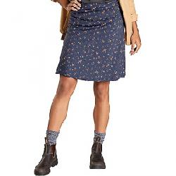 Toad & Co Women's Chaka Skirt True Navy Painter'S Floral