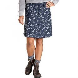 Toad & Co Women's Chaka Skirt True Navy Daisy Chain Print