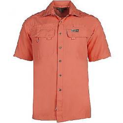 Hook & Tackle Men's Seacliff SS Shirt Coral