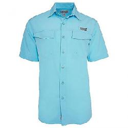Hook & Tackle Men's Coastline SS Shirt Lt. Aqua
