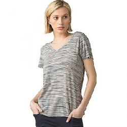 Prana Women's Foundation SS V Neck Top Frost