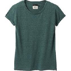 Prana Women's Cozy Up T-Shirt Peacock Heather