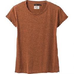Prana Women's Cozy Up T-Shirt Cedar Heather