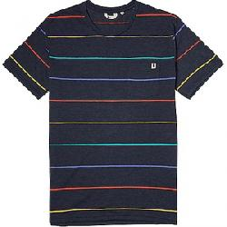 Cotopaxi Men's Buenos Check Pocket T-Shirt Graphite Stripe