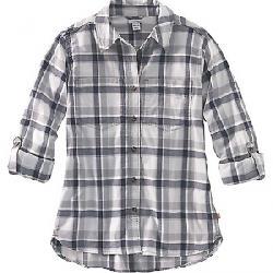 Carhartt Women's Fairview Plaid Shirt Asphalt