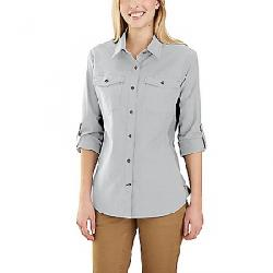 Carhartt Women's Rugged Flex Bozeman Shirt Glacier Grey