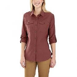 Carhartt Women's Rugged Flex Bozeman Shirt Henna