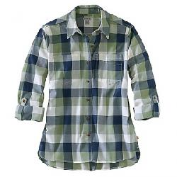 Carhartt Women's Fairview Plaid Shirt Oil Green