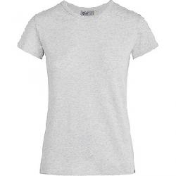 Tasc Women's NOLA II Crewneck SS Tee Light Heather Gray