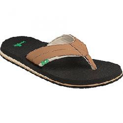 Sanuk Men's Beer Cozy 2 Sandal Tan / Tobacco