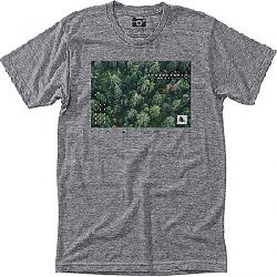 HippyTree Men's Forestry Tee Heather Grey