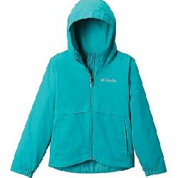 Columbia Girls' Rain-Zilla Jacket Bright Aqua