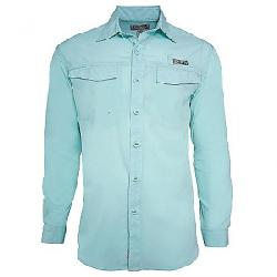 Hook & Tackle Men's Coastline LS Shirt Beach Glass