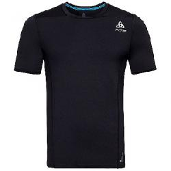 Odlo Men's Ceramicool Pro SS Crew Neck Top Black