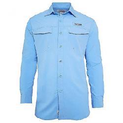 Hook & Tackle Men's Coastline LS Shirt French Blue